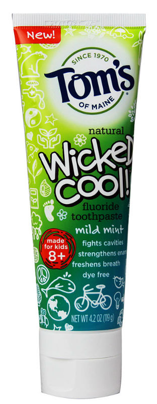 TOM'S OF MAINE: Anticavity Children's Toothpaste Wicked Cool 4.2 oz