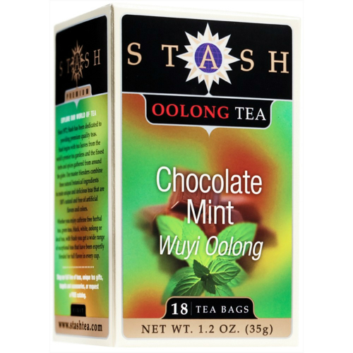 Chocolate Mint Oolong Tea