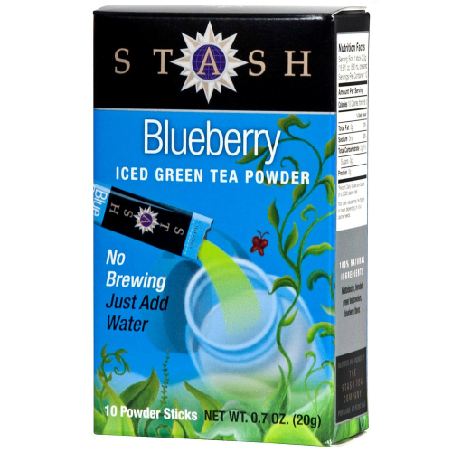 Powdered Green Ice Tea Blueberry 10 bag, $3.42ea from ...