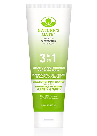 3 in 1 Shea Butter Scent Shampoo Conditioner & Body Wash 8 oz from NATURE'S GATE