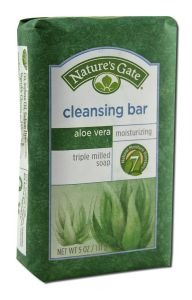 NATURE'S GATE: Aloe Vera Cleansing Bar 5 oz