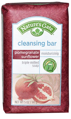 NATURE'S GATE: Pomegranate Sunflower Cleansing Bar 5 oz
