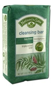 NATURE'S GATE: Tea Tree Cleansing Bar 5 oz