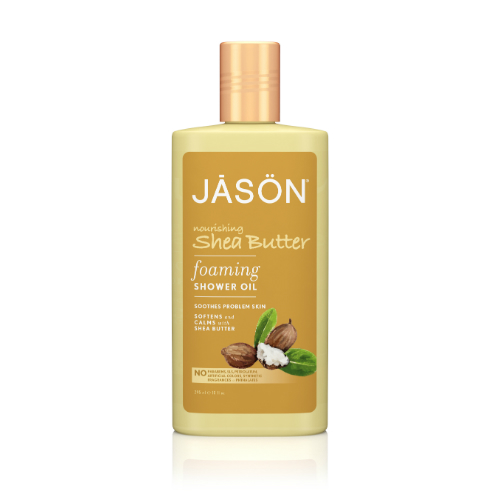 JASON NATURAL PRODUCTS: Nourishing Shea Butter Foaming Shower Oil 10 oz