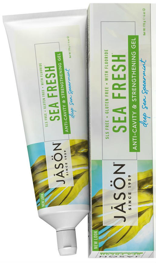 JASON NATURAL PRODUCTS: Toothpaste Sea Fresh Plus CoQ10 Gel 6 oz