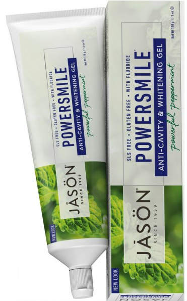 JASON NATURAL PRODUCTS: Toothpaste PowerSmile Plus CoQ10 Gel 6 oz