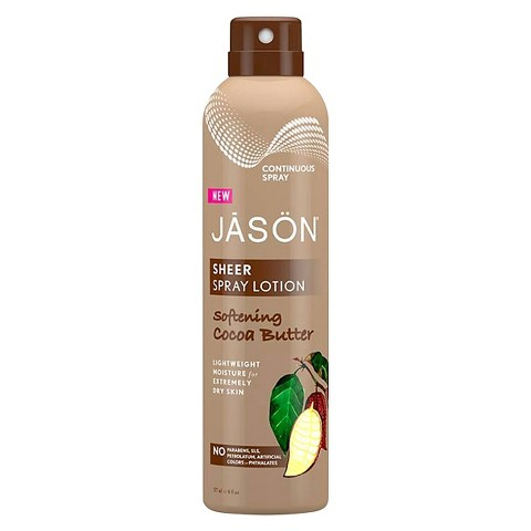 JASON NATURAL PRODUCTS: Lotion Sheer Spray Cocoa Butter 6 oz