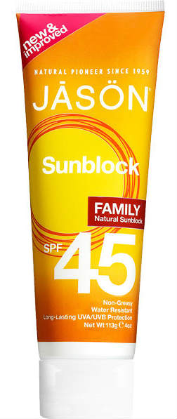 SPF36 Family Sun Block 4 fl oz from JASON NATURAL PRODUCTS