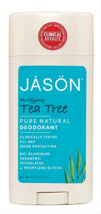 Deodorant Tea Tree Oil Stick 2.5 oz from JASON NATURAL PRODUCTS