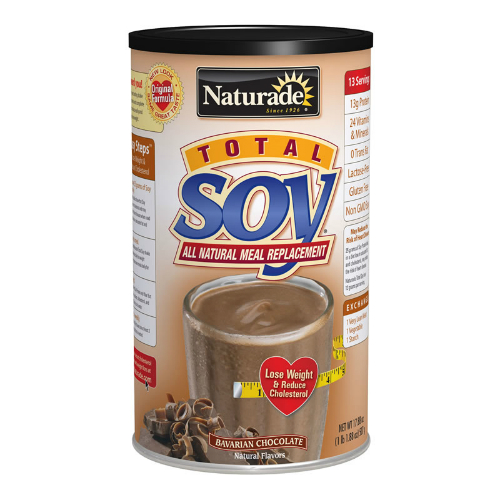 Total Soy All Natural Meal Replacement Bavarian Chocolate 17.88 oz from NATURADE