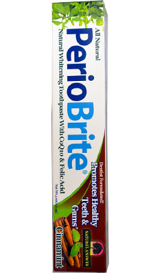 NATURE'S ANSWER: PerioBrite Natural Toothpaste Cinnamint 4 oz