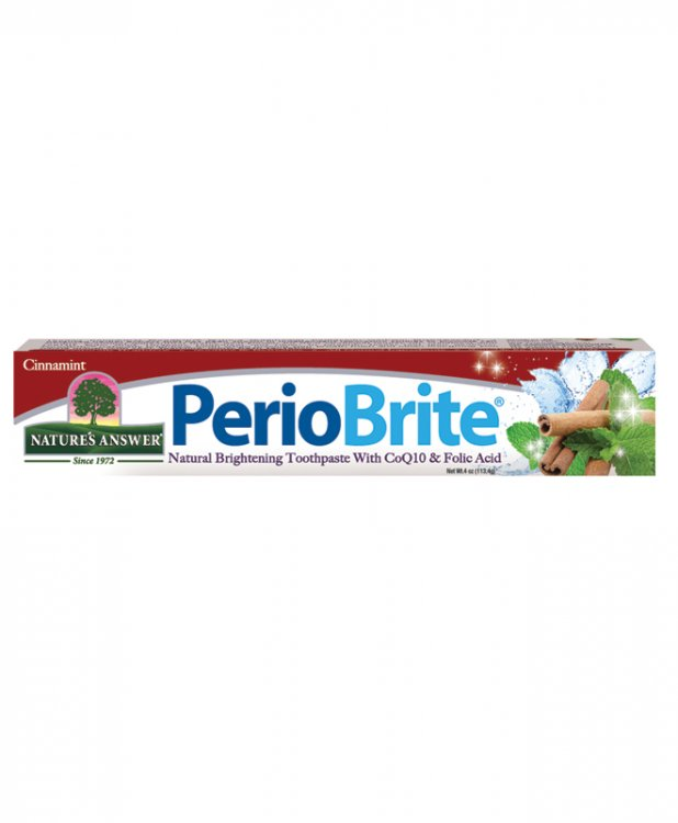NATURE'S ANSWER: PerioBrite Natural Toothpaste Wintermint 4 oz