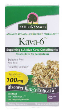 NATURE'S ANSWER: Kava 6 90 VCAPS
