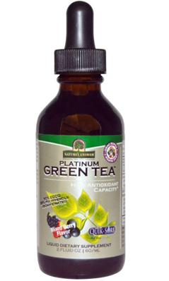 NATURE'S ANSWER: Platinum Super 7 Green Tea With ORAC Mixed Berry Flavor 2 oz
