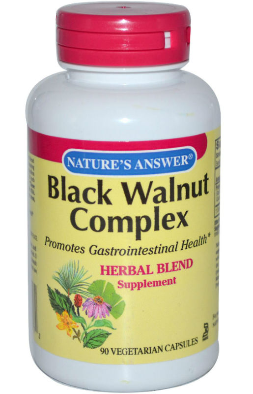 NATURE'S ANSWER: Black Walnut and Wormwood 90 cap