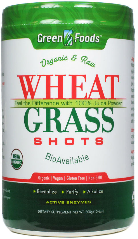 Green foods corporation: Wheat grass shot 60 serving 300 gm