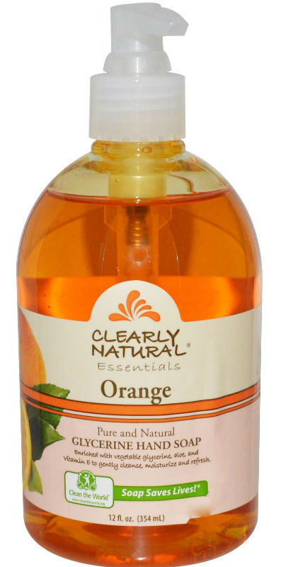 CLEARLY NATURAL: Clearly Natural Liquid Pump Soap-Orange 12 oz