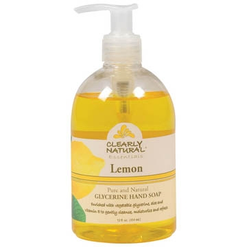 CLEARLY NATURAL: Clearly Natural Liquid Pump Soap-Lemon 12 oz