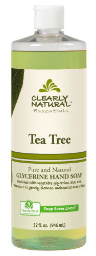 CLEARLY NATURAL: Clearly Natural Liquid Pump Soap-Refill Tea Tree 32 oz
