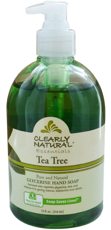 CLEARLY NATURAL: Clearly Natural Liquid Pump Soap-Tea Tree 12 oz
