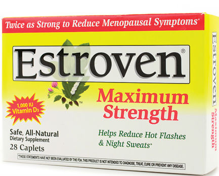 Estroven Max Strength 28 caps from I-HEALTH INC