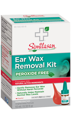 Ear Wax Removal Kit- Ear Drops