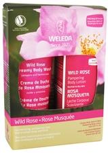 WELEDA: Holiday Kit Pampering Wild Rose 2 pc