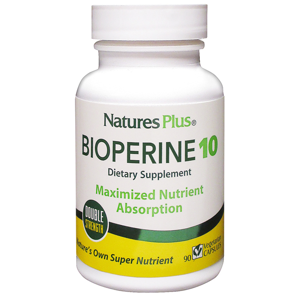 Natures Plus: BIOPERINE 10 MG VCAP 90
