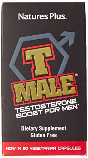 Natures Plus: T-Male Testosterone Booster For Men 60 Capsules