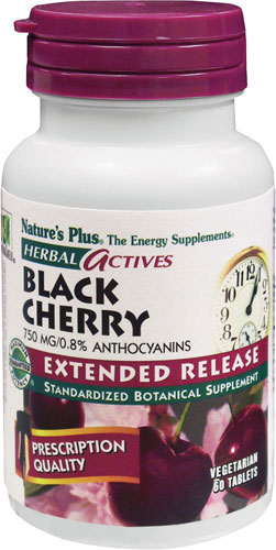Natures Plus: Black Cherry 750mg 30 Tablets