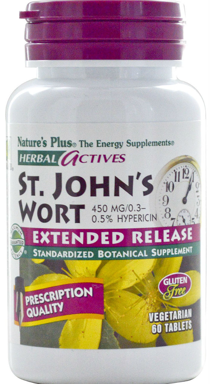 EXT. REL. ST. JOHN'S WORT 450 MG 60, 60 ct