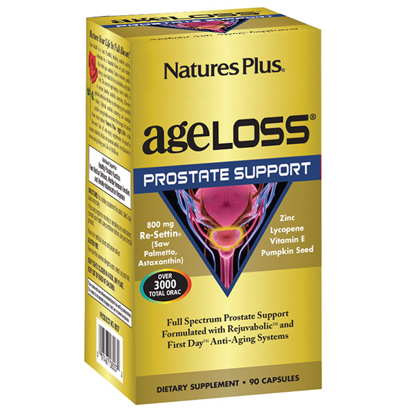 Natures Plus: AGELOSS PROSTATE SUPPORT VCAP 90
