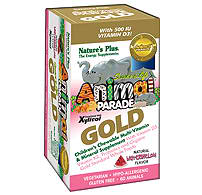 Natures Plus: AP GOLD Childrens Multi-vitamins WATERMELON 60 Chewable Tabs