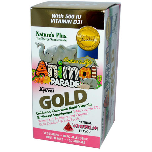 Natures Plus: ANIMAL PARADE GOLD WATERMELON 120 tabs