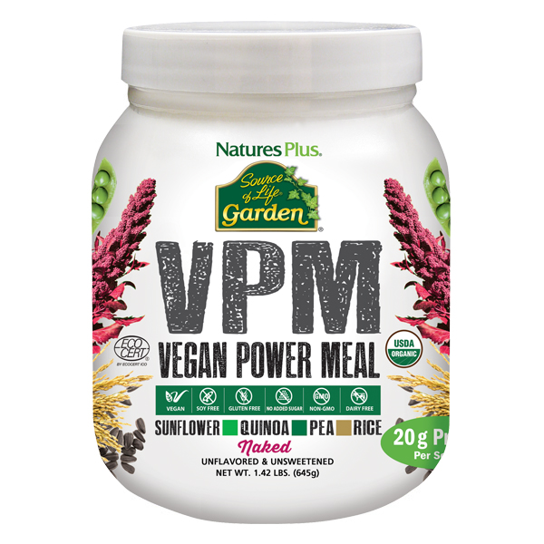 Natures Plus: SOL GARDEN VPM NAKED PROTEIN 1.42 LB