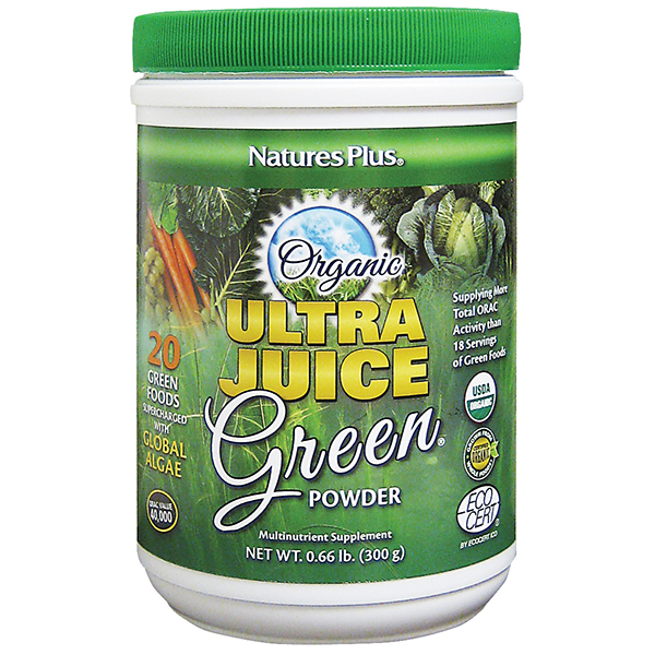 Natures Plus: ULTRA JUICE GREEN DRINK (30 Serving) 0.66 lb