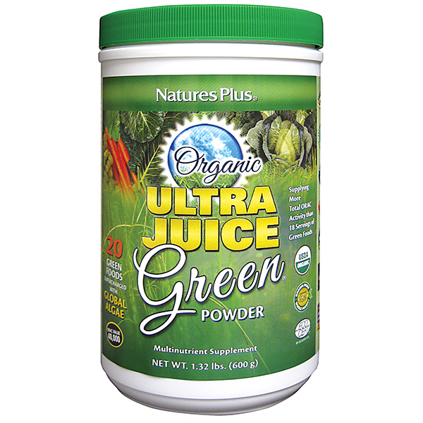 Natures Plus: ULTRA JUICE GREEN DRINK (60 Serving) 1.32 lb