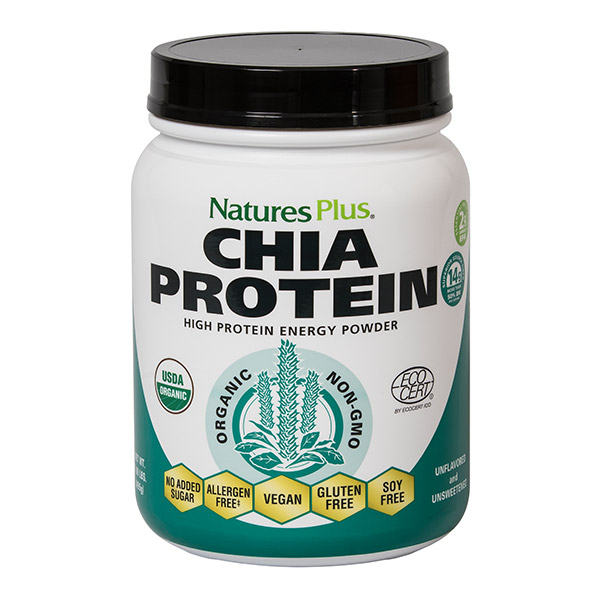 Natures Plus: CHIA PROTEIN 1.09 LB