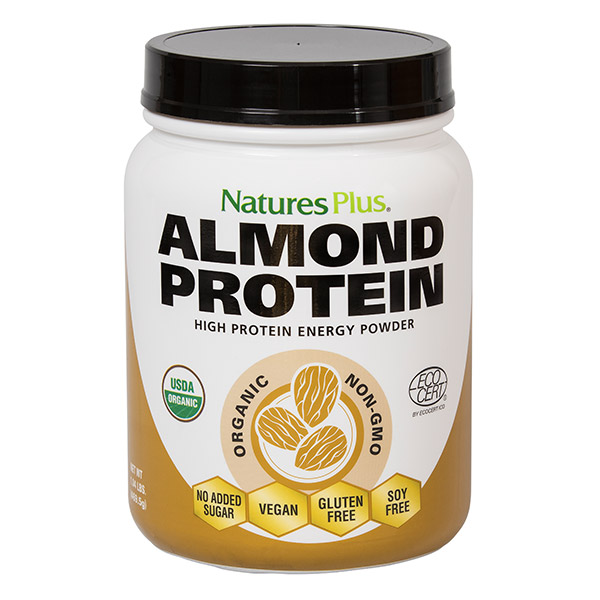 Natures Plus: ALMOND PROTEIN 1.04 LB