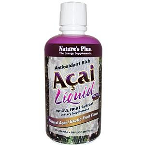 Natures Plus: ACAI LIQUID 8 OZ