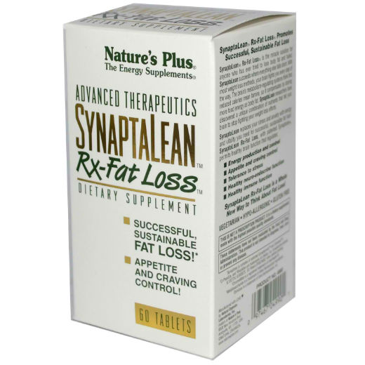 Natures Plus: SYNAPTALEAN RX FAT LOSS 60 Tablets
