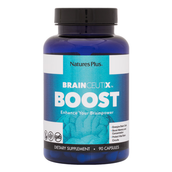 Natures Plus: BrainCeutix Boost 90 Vegetarian Capsules