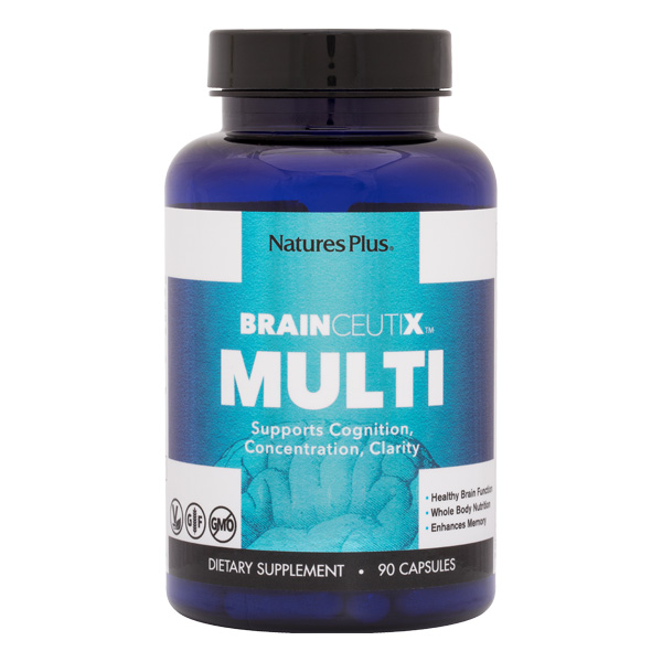 Natures Plus: BrainCeutix Multiple 90 Vegetarian Capsules