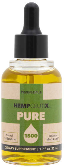 HempCeutix Pure Hemp Oil 1500mg (CBD), 50ml