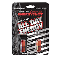 Natures Plus: SOL ENERGY SHOT BLISTER 2 caps
