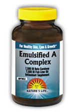Natures Life: Emulsified A Complex 100ct