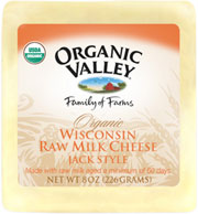 Organic Valley: Mntry jack,og,raw,unpast 8 OZ
