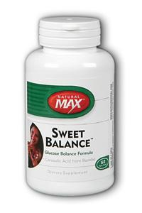 NaturalMax: Sweet Balance 60ct