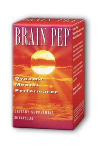 Natural Balance: Brain Pep 30 Cap