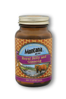 Montana Big Sky: Royal Jelly and Ginseng 60 Cap